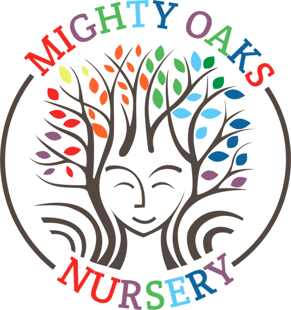 footer logo of  Mighty oaks nursery Leicester